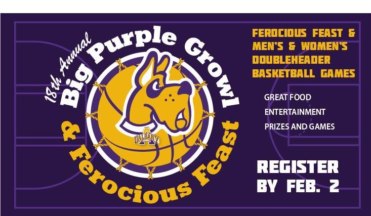 18th Annual Big Purple Growl & Ferocious Feast is Feb. 7