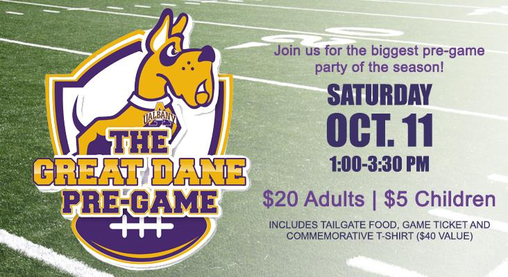Great Dane Pre-Game is Oct. 11