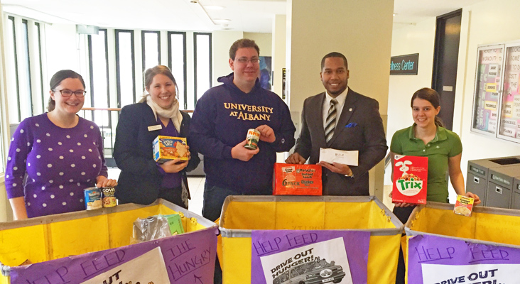 Drive Out Hunger in the Capital District