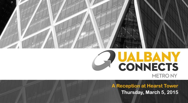 UAlbany Connects: Hearst Tower, NYC