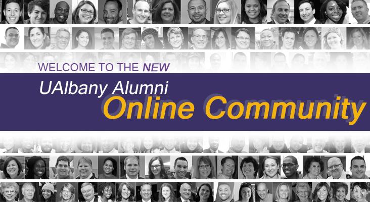 Welcome to the New UAlbany Alumni Online Community