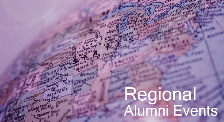 Regional alumni events in your area