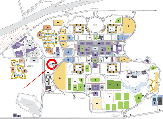 Ualbany Downtown Campus Map.Suny Albany Campus Map Helderateliers